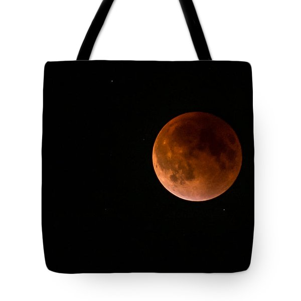 2015 Blood Harvest Supermoon Eclipse Tote Bag