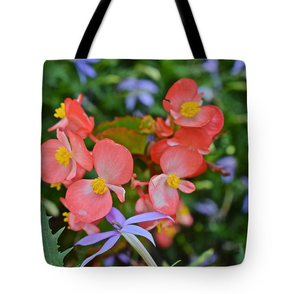 2015 Mid September At The Garden Begonias 2 Tote Bag