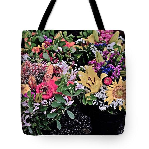 2015 Monona Farmers Market Flowers 1 Tote Bag
