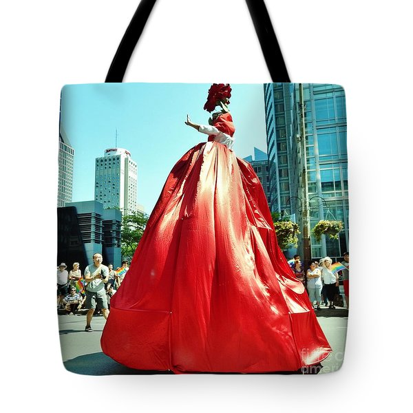 2015 Montreal Lgbta Parade  Tote Bag by Reb Frost