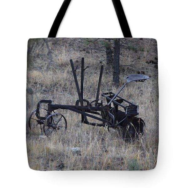 Old Farm Implement Lake George Co Tote Bag