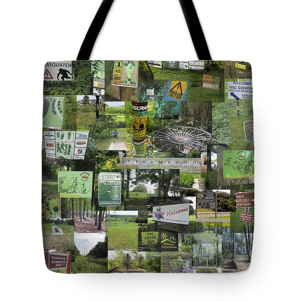 2015 Pdga Amateur Disc Golf World Championships Photo Collage Tote Bag
