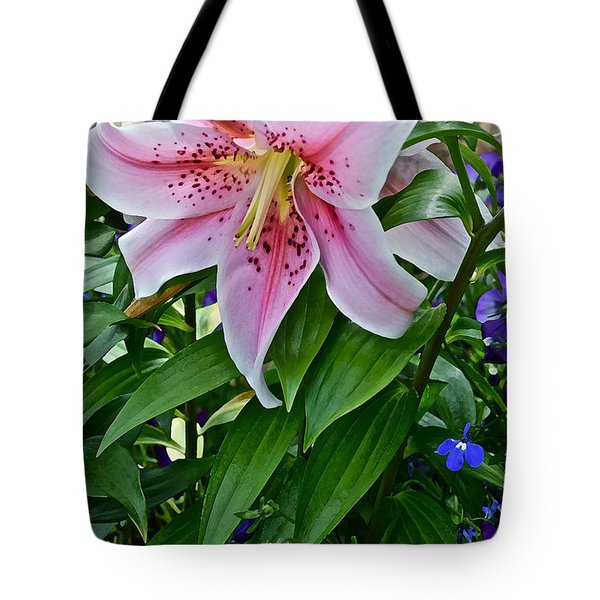 2015 Summer At The Garden Event Garden Lily 3 Tote Bag