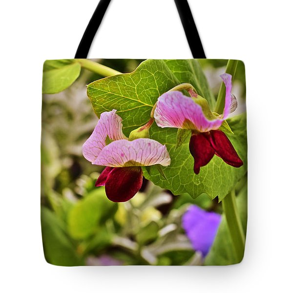 2015 Summer's Eve At The Garden Sweet Pea 2 Tote Bag
