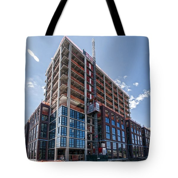 Tote Bag featuring the photograph 20150914 6 by Steve Sahm