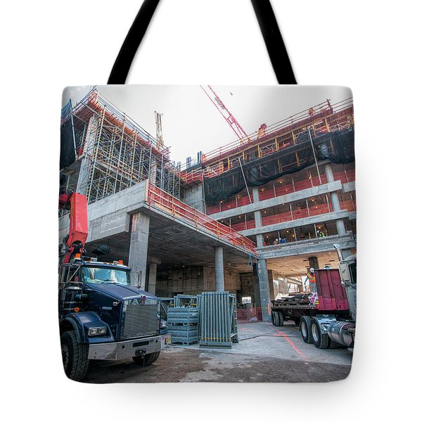 Tote Bag featuring the photograph 2016-10-24_0122 by Steve Sahm