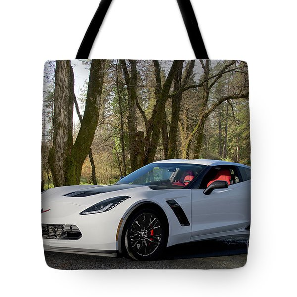 2016 Chevrolet Corvette Z06 Tote Bag