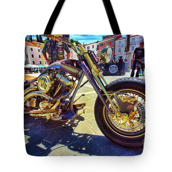 2016 Custom Harley Winner Tote Bag by Graham Hawcroft pixsellpix