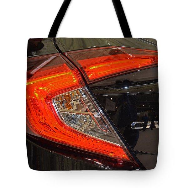 2016 Honda Civic Tail Light Tote Bag