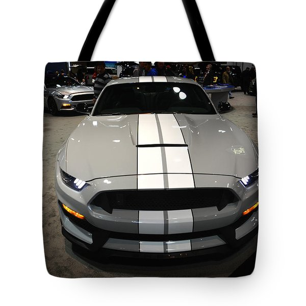 2016 Preproduction Ford Mustang Shelby Gt350 Tote Bag