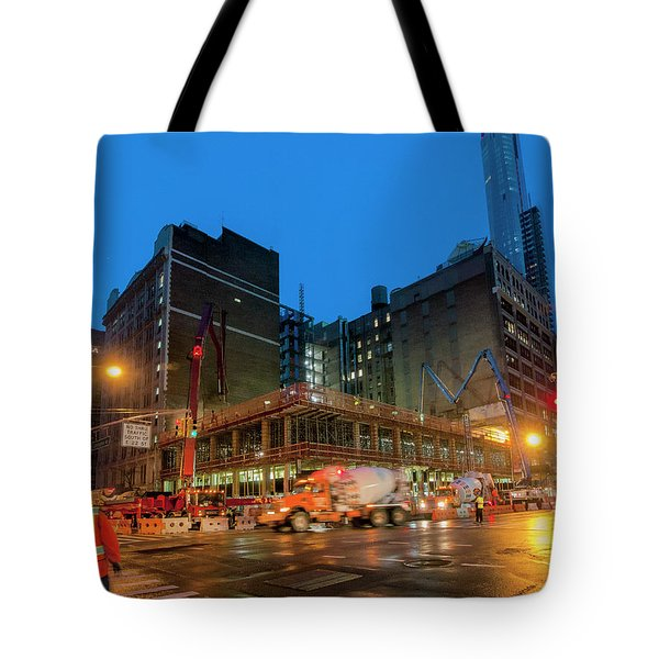 Tote Bag featuring the photograph 2017-02-08_0721 by Steve Sahm