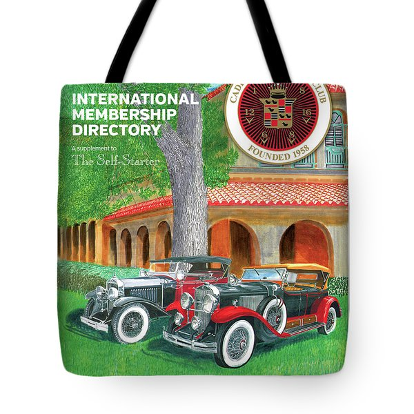 Tote Bag featuring the painting 2017 International Cover Award by Jack Pumphrey
