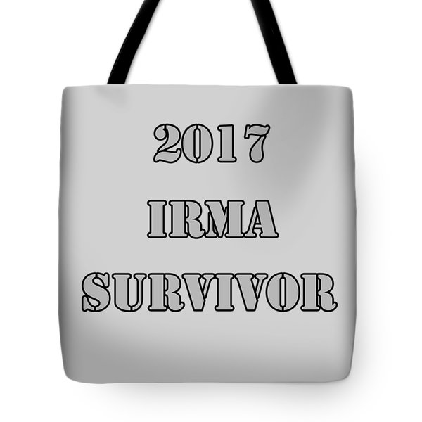 2017 Irma Survivor Tote Bag by Judy Hall-Folde