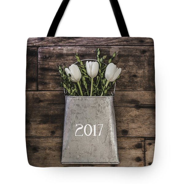 Tote Bag featuring the photograph 2017 by Kim Hojnacki