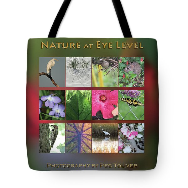 Tote Bag featuring the photograph 2017 Nature Calendar by Peg Toliver