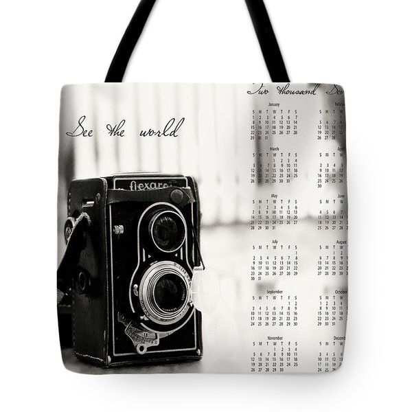 Tote Bag featuring the photograph 2017 See The World Wall Calendar by Ivy Ho