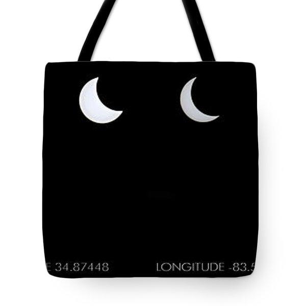 2017 Solar Eclipse Tote Bag