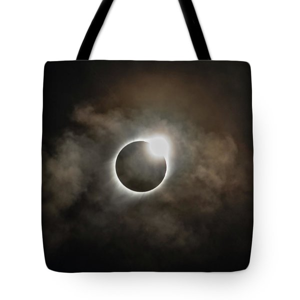 2017 Solar Eclipse Exit Ring Tote Bag