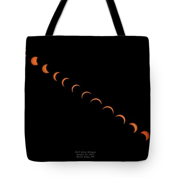 2017 Solar Eclipse Tote Bag