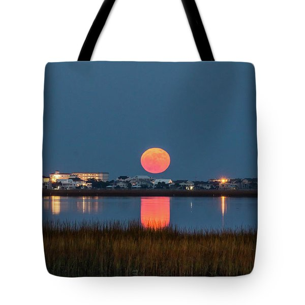 2017 Supermoon Tote Bag