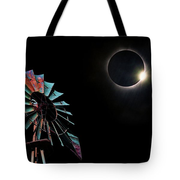 2017 Total Eclipse Central Nebraska Tote Bag