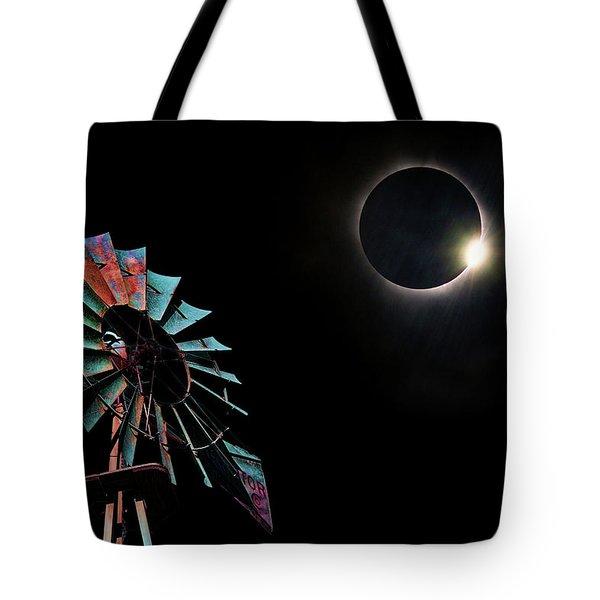 2017 Total Eclipse Central Nebraska Tote Bag