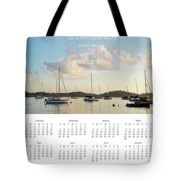 Tote Bag featuring the photograph 2017 Wall Calendar Journey by Ivy Ho