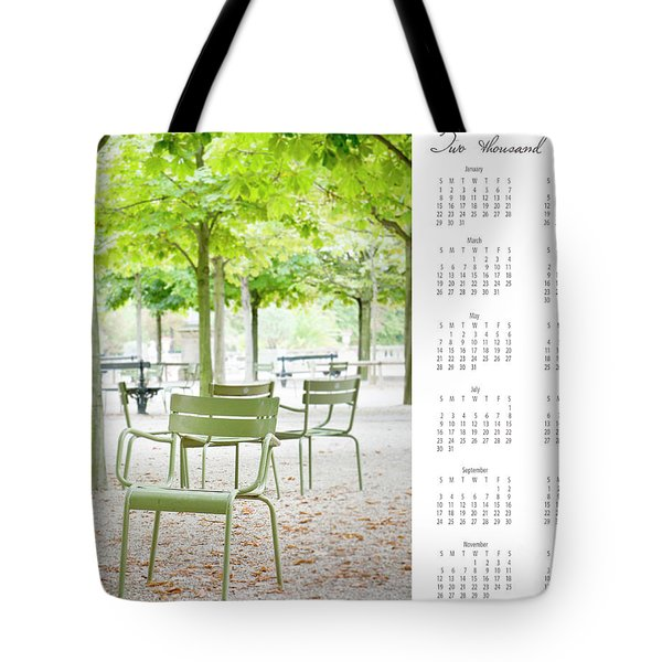 Tote Bag featuring the photograph 2017 Wall Calendar Paris by Ivy Ho