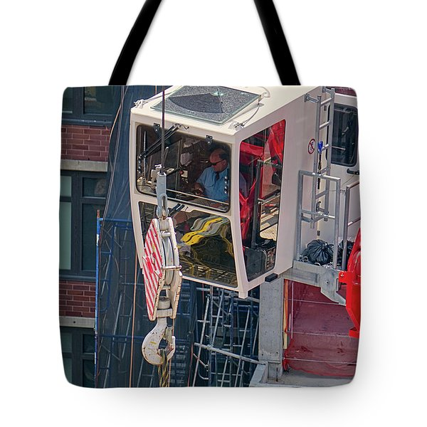 Tote Bag featuring the photograph 2018-07-11a_e30th by Steve Sahm