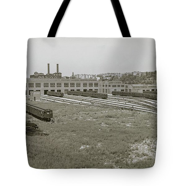 207th Street Railyards Tote Bag