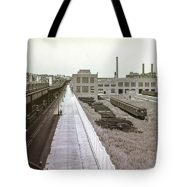 207th Street Subway Yards Tote Bag