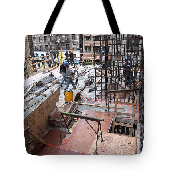 Tote Bag featuring the photograph 208 W 96th C1 by Steve Sahm