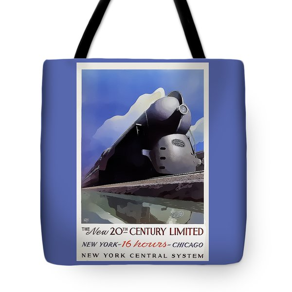 20th Century Limited Tote Bag by Chuck Staley