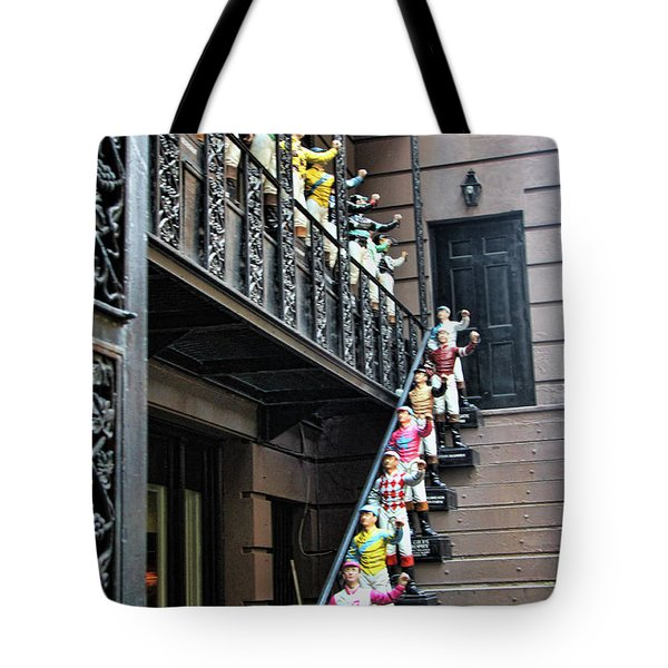 21 Club Nyc Tote Bag