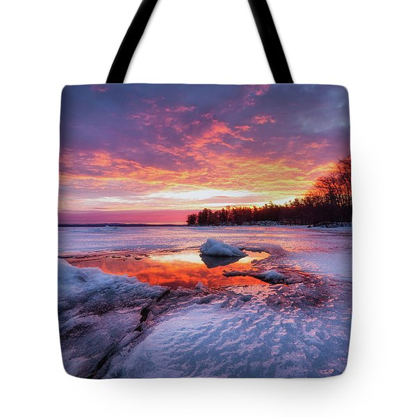 Lake Winnipesaukee Tote Bag