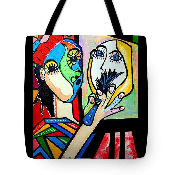 Artist Picasso Tote Bag