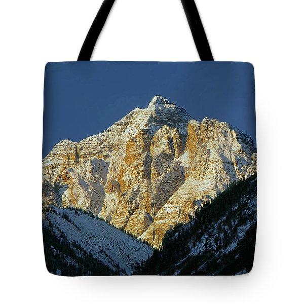 210418 Pyramid Peak Tote Bag
