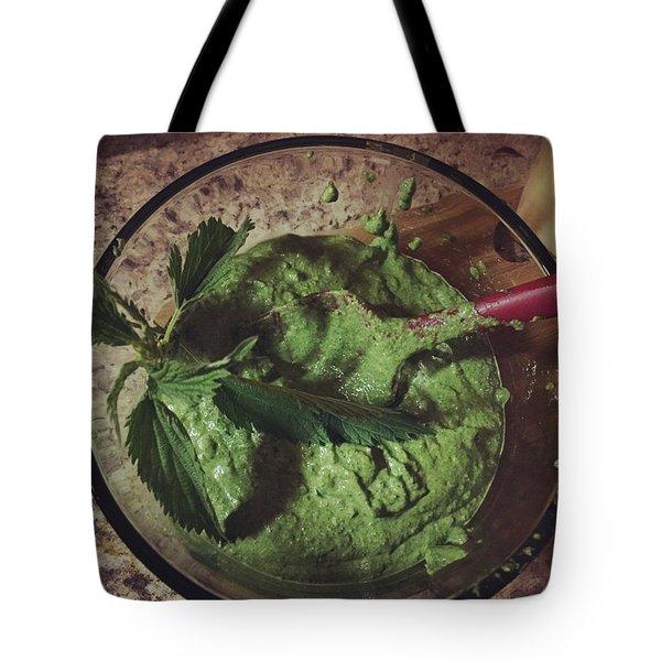 Nettle Pesto Tote Bag