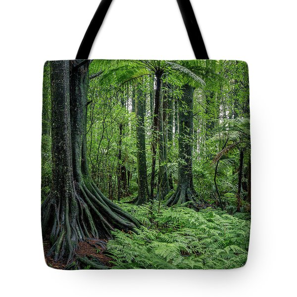 Tote Bag featuring the photograph Jungle by Les Cunliffe
