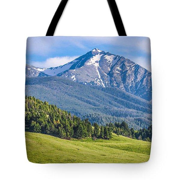 #215 - Spanish Peaks, Southwest Montana Tote Bag