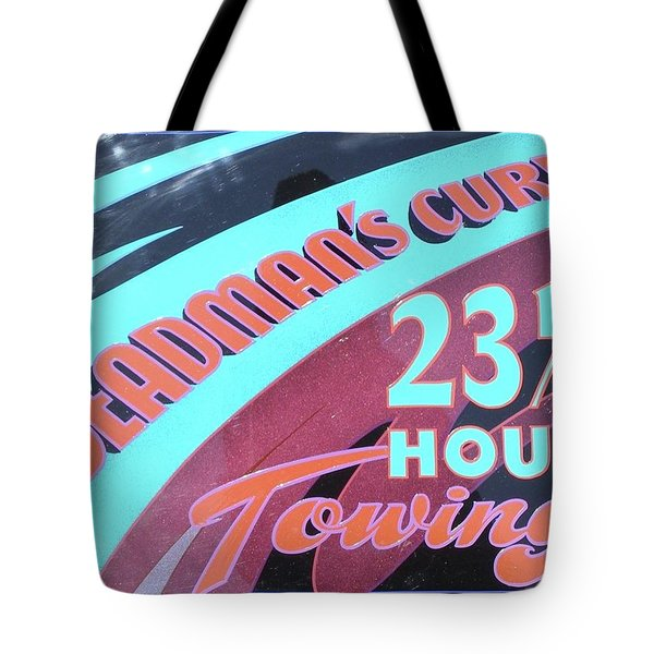 23 1/2 Hour Towing Tote Bag