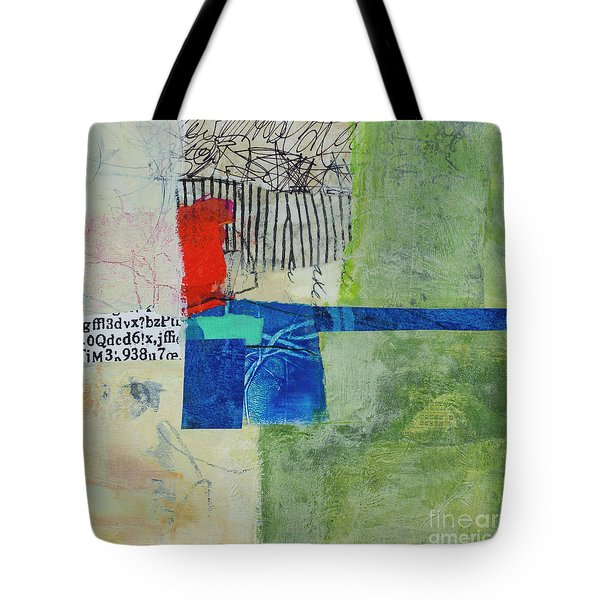 Tote Bag featuring the mixed media 23 by Elena Nosyreva