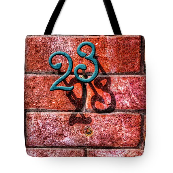 Tote Bag featuring the photograph 23 by Paul Wear