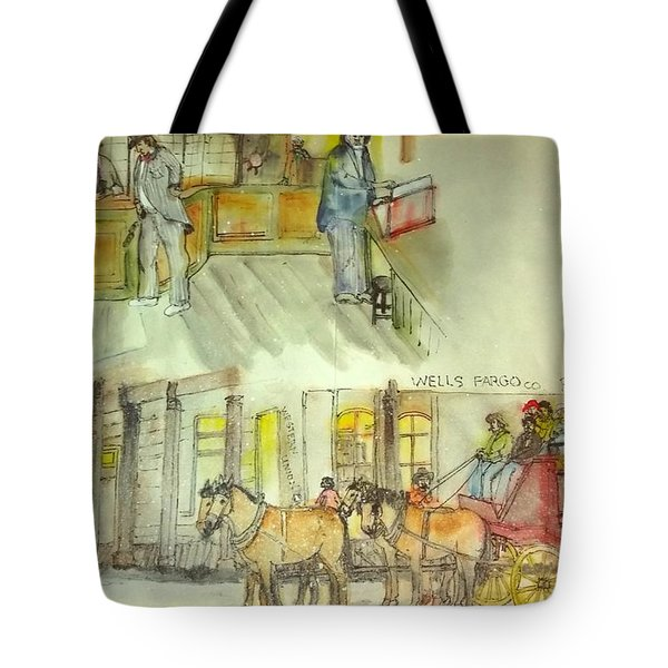the ole' West my way album Tote Bag by Debbi Saccomanno Chan