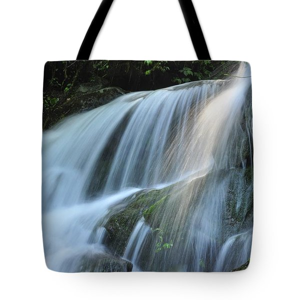 Waterfall Scenery Tote Bag