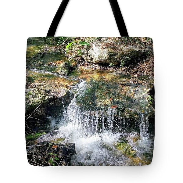 Mini Waterfall Tote Bag