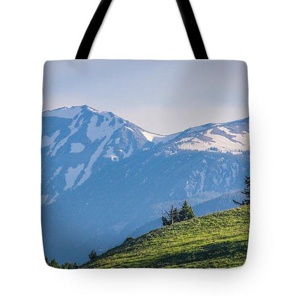 #238 - Spanish Peaks, Southwest Montana Tote Bag