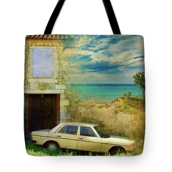 24 Hr Parking By The Beach Tote Bag