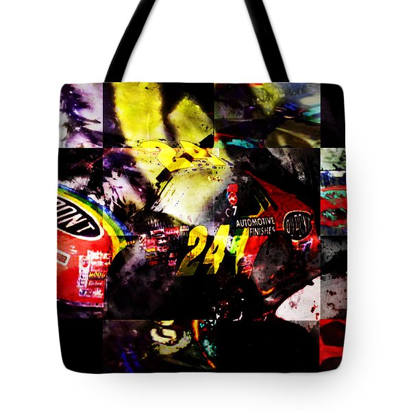 Tote Bag featuring the digital art 24 by Ken Walker