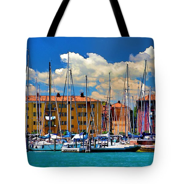 Venice - Untitled Tote Bag by Brian Davis